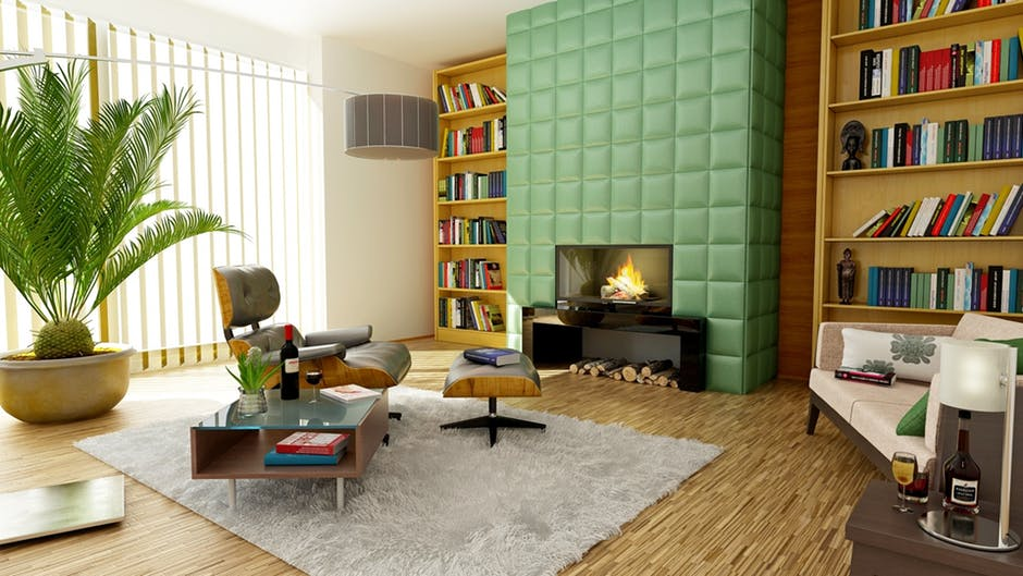 Getting rid of the clutter already makes your home improved