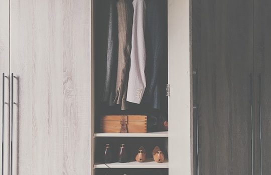 Make sure you have planned compartments for all of your stuff in the new closet.