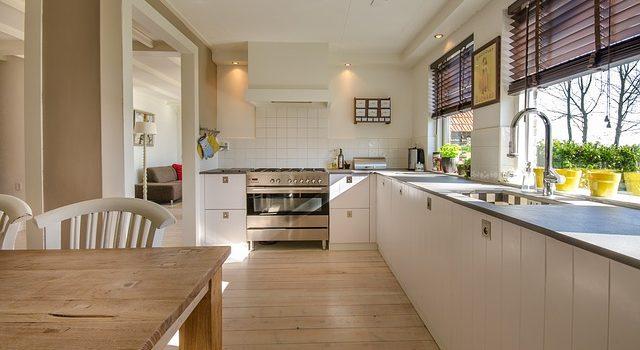 Decorated kitchen.