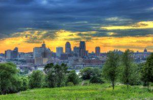 St Paul skyline