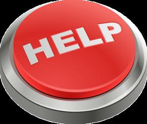 Help, red button