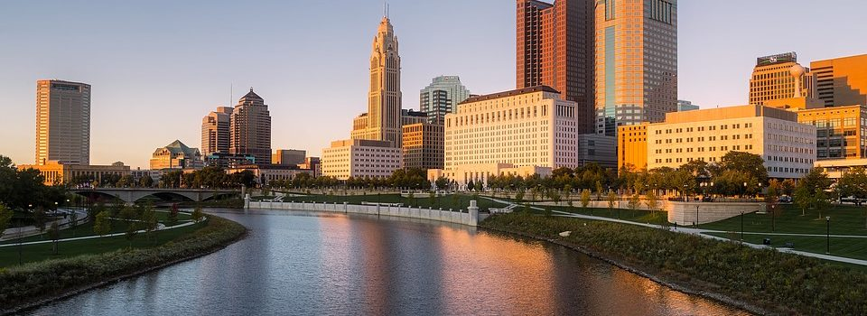 A view of Columbus.