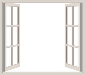 An open window, which is very helpful when you need to design a Feng Shui living room.