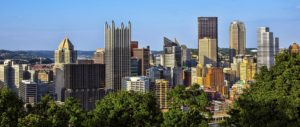 A view of Pittsburgh.